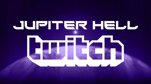 Jupiter Hell development stream on Twitch!